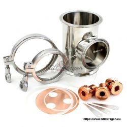 """Bubble Section with Thermowell for 4"""" Dash Pro SG"""