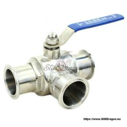 "2"" Tri-Clamp 3-Way Valve"