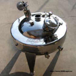 150L Pot Belly Wasserbad-Boiler mit Rührwerk