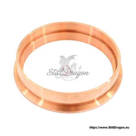 "4"" Tri-Clamp EZ Flange Copper"