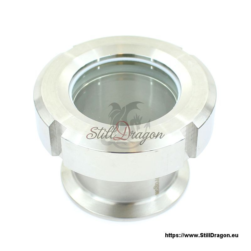 Quot tri clamp screw on sight glass kit made of stainless steel