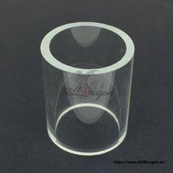 "2.5"" Baby Crystal Dragon Glass Cylinder"