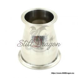 """4"""" x 3"""" Tri-Clamp Reducer Conical"""