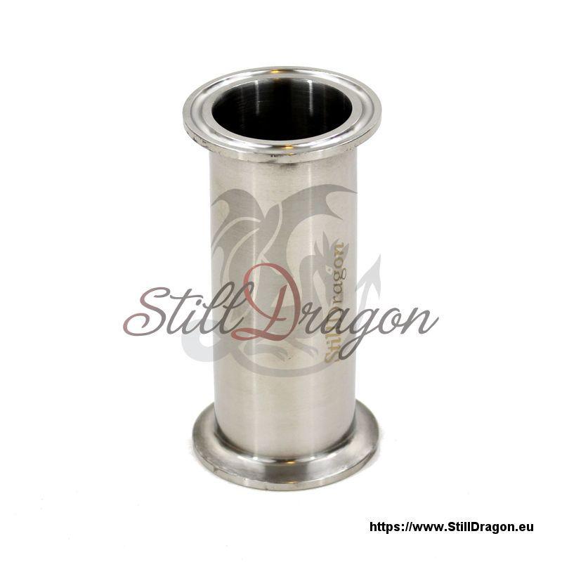 1 5 zoll tri clamp rohr 100 mm lang aus edelstahl. Black Bedroom Furniture Sets. Home Design Ideas