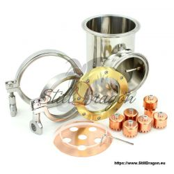"""Bubble Section with Thermowell for 4"""" Dash SGK"""