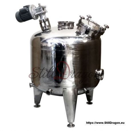 500L Pot Belly Boiler with Agitator