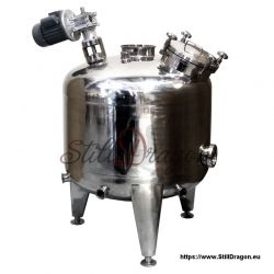 1000L Pot Belly Boiler with Agitator