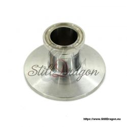 "1.5"" x 3/4"" Tri-Clamp Reducer Short"
