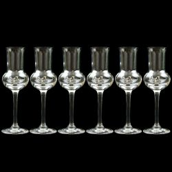 Clear Spirits Tasting Glass Pack of 6