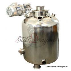100L Milchkannen Boiler mit Rührwerk