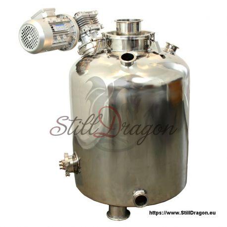 100L Milk Can Boiler with Agitator