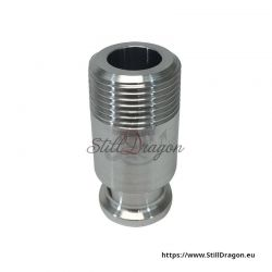 "3/4"" Tri-Clamp to 3/4"" Male Pipe Thread Adapter"