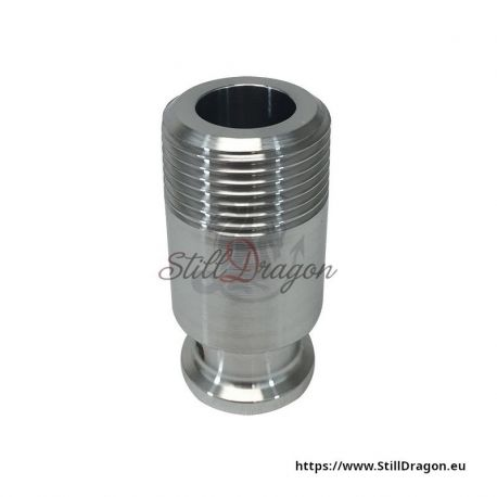 """3/4"""" Tri-Clamp to 3/4"""" Male Pipe Thread Adapter"""