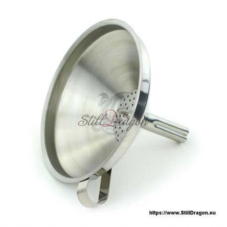 Stainless Steel Funnel with Strainer Insert