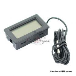 Digitaler Temperatursensor mit LCD