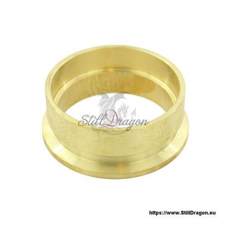 """2"""" Tri-Clamp EZ Flange Brass"""