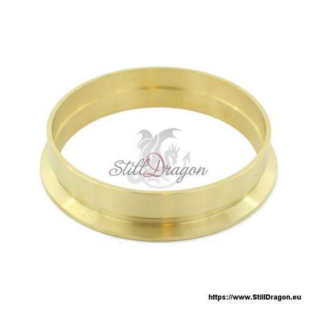 """4"""" Tri-Clamp EZ Flange Brass"""