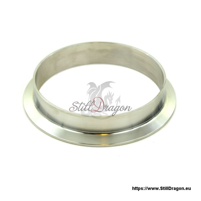 Inch tri clamp ferrule made of stainless steel