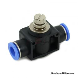 Push Connect Throttle Check Valve