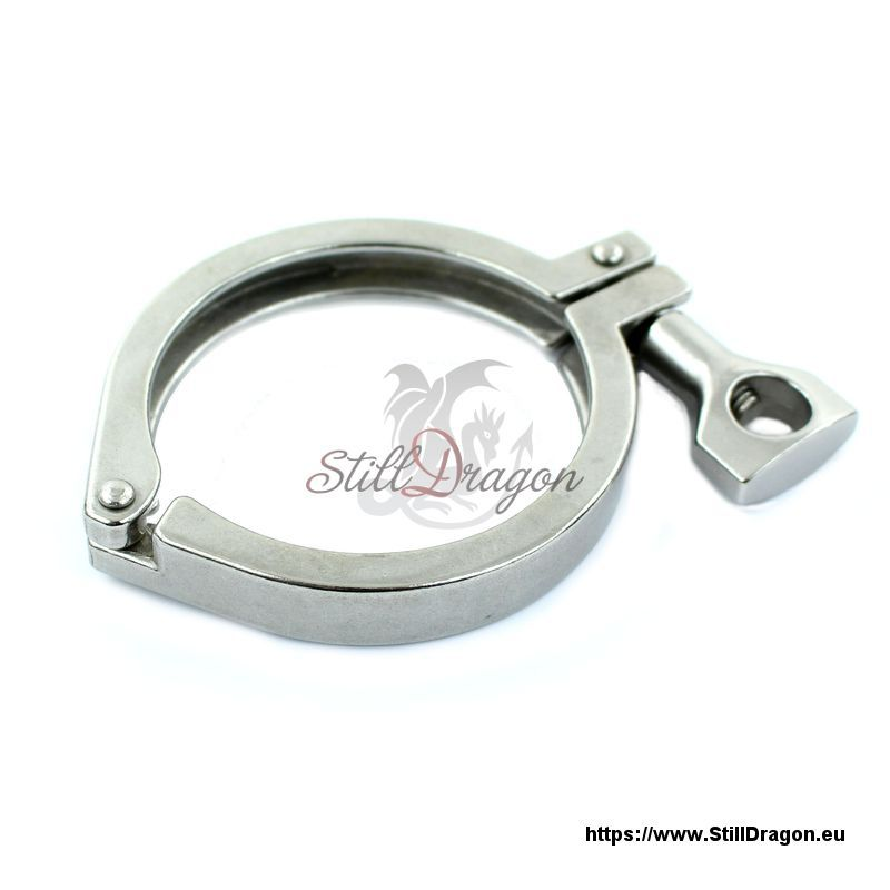 Inch tri clamp made of stainless steel also known as