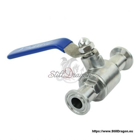 "3/4"" Tri-Clamp Ball Valve with 3/8"" Bore"