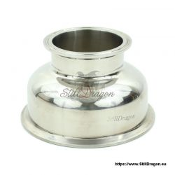 """5"""" x 3"""" Tri-Clamp Reducer Spherical"""