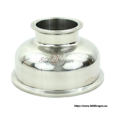 """6"""" x 3"""" Tri-Clamp Reducer Spherical"""