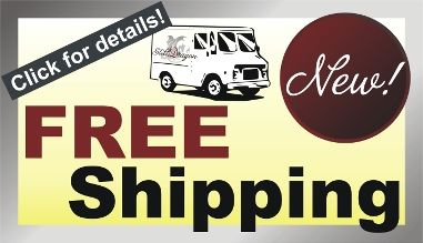 Click here to read more about our FREE Shipping Conditions!