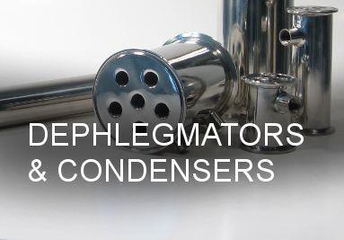 DEPHLEGMATORS & CONDENSERS